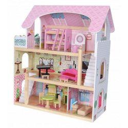 """Drewniany domek dla lalek """"Rezydencja Bajkowa"""""""