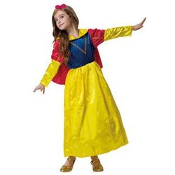 Kostium Królewna dla dziewczynki - S - 104 cm