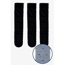 Podkolanówki damskie czarne 8V41AB Oferta ważna tylko do 2031-07-09