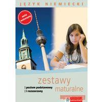 Hobby i poradniki, JĘZ.NIEM.ZESTAWY MATURALNE+CD GRATIS (opr. miękka)