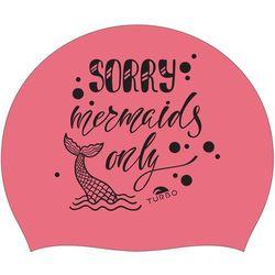 Turbo Sorry Mermaids Only Czepek pływacki różowy 2019 Czepki pływackie Przy złożeniu zamówienia do godziny 16 ( od Pon. do Pt., wszystkie metody płatności z wyjątkiem przelewu bankowego), wysyłka odbędzie się tego samego dnia.