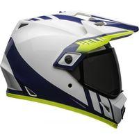 Kaski motocyklowe, BELL KASK MX-9 ADVENTURE MIPS DASH WHITE/BLUE/HI