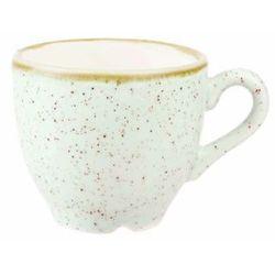 Filiżanka espresso 0,1 l, biała | CHURCHILL, Stonecast Barley White