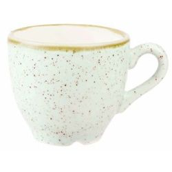 Filiżanka espresso 100 ml, biała | CHURCHILL, Stonecast Barley White