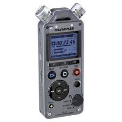 Olympus LS-12 + CL2 Kit rejestrator cyfrowy + klips / uchwyt do rejestratorów z serii LS Płacąc przelewem przesyłka gratis!