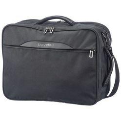 TRAVELITE CROSSLITE Plecak torba 2w1 23/28L Schwarz - Czarny