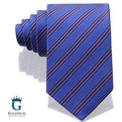 Niebieski włoski krawat jedwabny Arcuri 14813/3