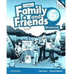 Family and friends 6 workbook with online practice - penn julie, pelteret cheryl (opr. broszurowa)