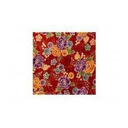 Furoshiki Czerwone Kwiaty L