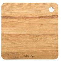 Deski kuchenne, Deska drewniana Healthy Plan by Ann kwadratowa