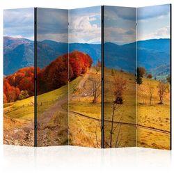 Parawan 5-częściowy - Kolorowy jesienny pejzaż, Karpaty II [Room Dividers]
