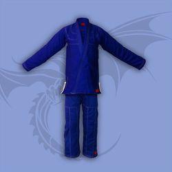 kimono do jiu-jitsu TONBO - JUNIOR, niebieskie, 350g/m2