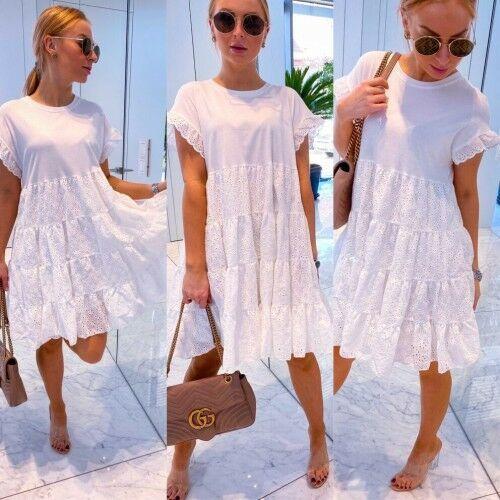 Suknie i sukienki, SUKIENKA REBEKA BIEL
