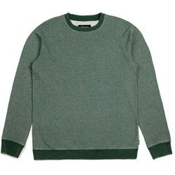 bluza BRIXTON - Lakeshore Crew Fleece Heather/Green (HTGRN) rozmiar: S