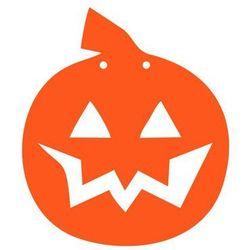 Papierowa dynia na Halloween 13 cm - 1 szt.