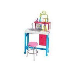 Barbie Zestaw mebelków Laboratorium Naukowe