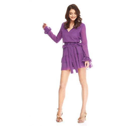 Suknie i sukienki, Sukienka Alyssa w kolorze fioletowym