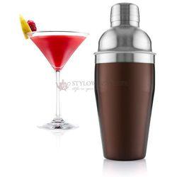 Shaker do koktajli stalowy Vacu Vin