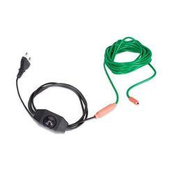 Waldbeck Greenwire Select 6, kabel grzewczy na rośliny, 6 m, z termostatem, IP68