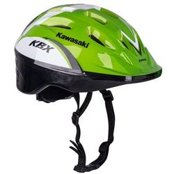 Kask na rower, rolki, hulajnogę Kawasaki Shikuro – PROMOCJA, Zielony, L (52-54)