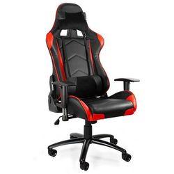 Fotel gamingowy Dynamiq V5 czarny-czerwony