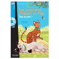 Książki do nauki języka, Les Aventures d'Albert et Folio. Tous au Parc ! . Poziom A1 (opr. miękka)
