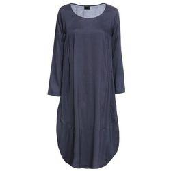 Sukienka bonprix czarno-kremowy
