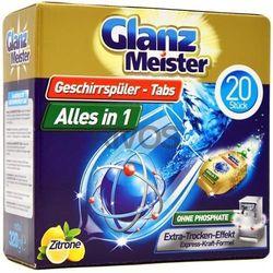 Glanz Meister tabletki do zmywarki Alles in 1 20szt