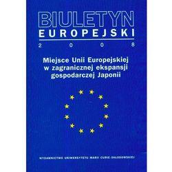 Biuletyn Europejski 2008 - DODATKOWO 10% RABATU i WYSYŁKA 24H! (opr. miękka)