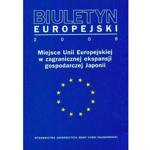 Gazety i czasopisma, Biuletyn Europejski 2008 - DODATKOWO 10% RABATU i WYSYŁKA 24H! (opr. miękka)