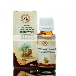Olej z Orzechów Cedrowych Zimnotłoczony, 100% Naturalny, Aromatika
