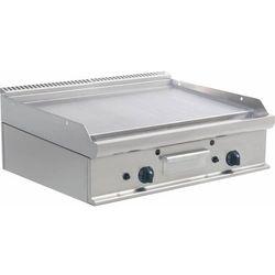 Płyta grillowa gazowa gładka nastawna | 790x530mm | 12000W