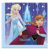 Serwetki, Serwetki urodzinowe Frozen - Kraina Lodu - 33 cm - 20 szt. Procos 10% - 3 (-10%)