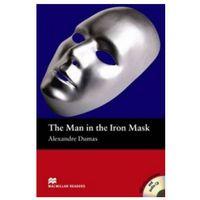 Książki do nauki języka, The Man In The Iron Mask + CD. Macmillan Readers Beginner (opr. miękka)