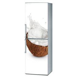 Mata magnetyczna na lodówkę - Kokos na białym tle 4249