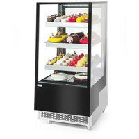 Szafy i witryny chłodnicze, Hendi Witryna chłodnicza 3-półkowa 300 l - kod Product ID
