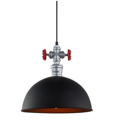 Lampy sufitowe, Lampa wisząca Rosa 1 x 60 W E27 czarna