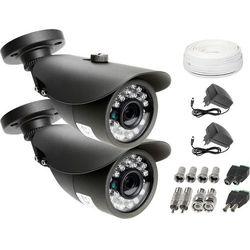 Monitoring: Kamera LV-AL20MT 2x kamera IR20m Ivel electronics Akcesoria