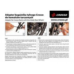 Adapter do hamulców tarczowych Crosso - 30mm crosso (-13%)