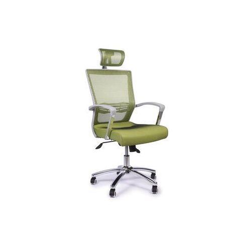 Fotele i krzesła biurowe, Fotel biurowy MESH PLUS zielony