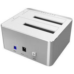 Unitek Stacja dokująca HDD;USB 3.0; CLONE; Y-3026 ALU.