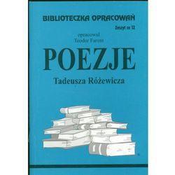 Poezje Tadeusza Różewicza Zeszyt 12 (opr. miękka)