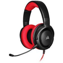 Zestaw słuchawkowy CORSAIR HS35 Czerwony