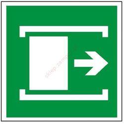 Znak Przesunąć w celu otwarcia