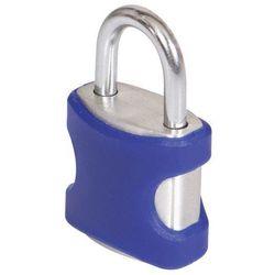 Kłódka Smith & Locke aluminium 21 mm niebieska 2 szt.