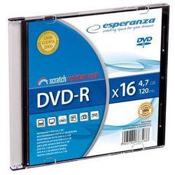 ESPERANZA DVD-R 4.7GB pudełko slim