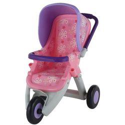 Wózek dla lalek spacerowy 3-kolowy +DARMOWA DOSTAWA przy płatności KUP Z TWISTO