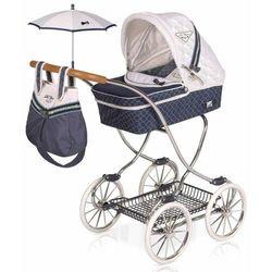 DeCuevas 80237 Wózek dla lalki z parasolką i dodatkami TOP Collection