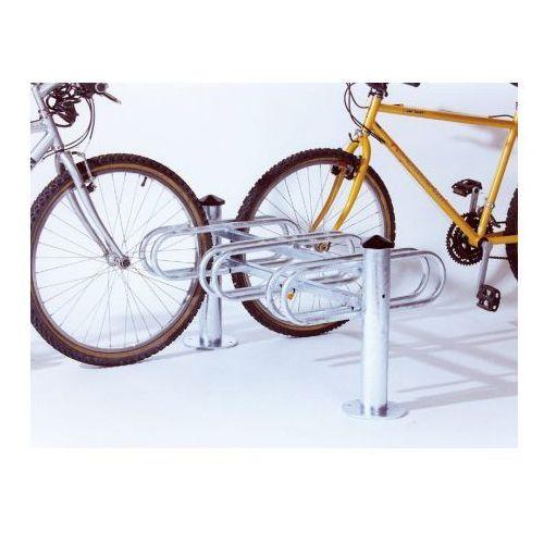 """Pozostała odzież robocza i BHP, Stojaki na rowery typu """"Merkury"""" dwustronny - 3 stanowiska, powierzchnia ocynkowana ogniowo"""