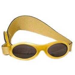 Okulary przeciwsłoneczne dzieci 0-2lat UV400 BANZ - Gold